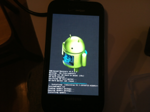 CyanogenMod Booting for the First Time